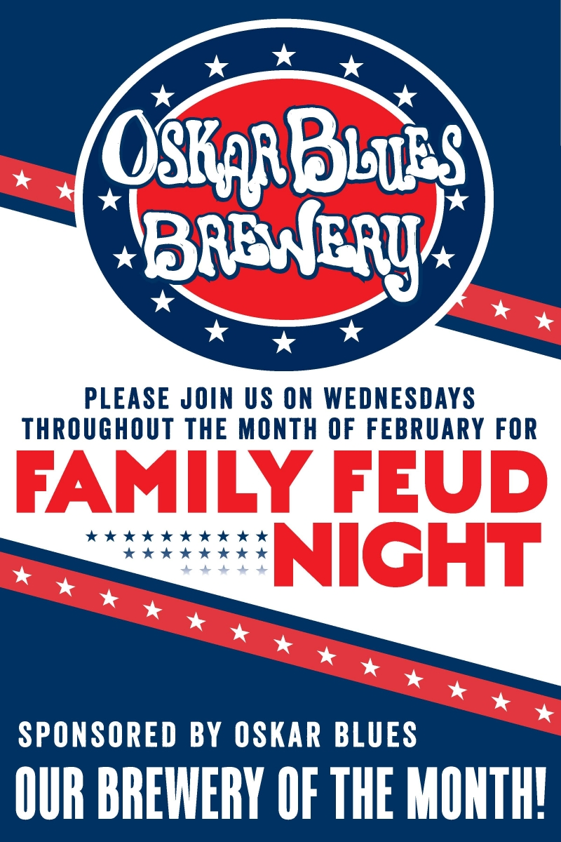 FAMILY FEUD WITH OSKAR BLUES   Craft New Hampshire